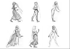 Tangled Concept Art ★ || Art of Walt Disney Animation Studios © - Website | (www.disneyanimation.com) • Please support the artists and studios featured here by buying this and other artworks in the official online stores (www.disneystore.com) • Find more artists at www.facebook.com/CharacterDesignReferences  and www.pinterest.com/characterdesigh || ★