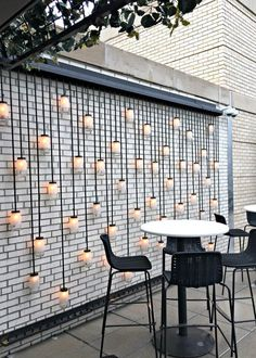 48 Most Beautiful Outdoor Lighting Ideas to Inspire You - GODIYGO.COM terracede Most Beautiful Outdoor Lighting Ideas to Inspire You - GODIYGO.COM terracedesign Outdoor lighting can create a good difference to your house, and Backyard Patio, Backyard Landscaping, Landscaping Ideas, Backyard Privacy, Terrasse Design, Open House Plans, Outdoor Walls, Outdoor Wall Art, Outdoor Rooms