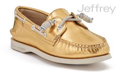 Sperry - GOLD = LOVE!