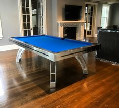 38 best modern stainless steel pool tables images custom pool rh pinterest com