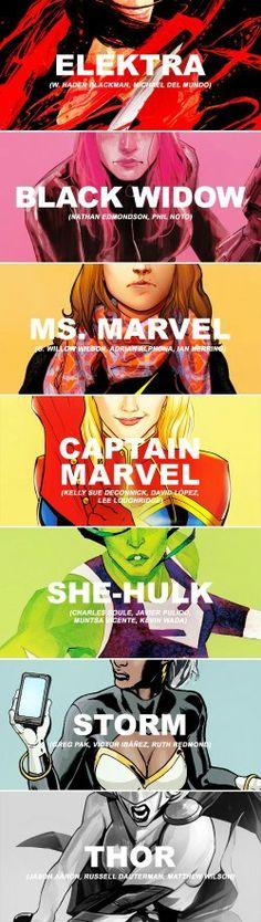 Amazing Underrated Marvel Women