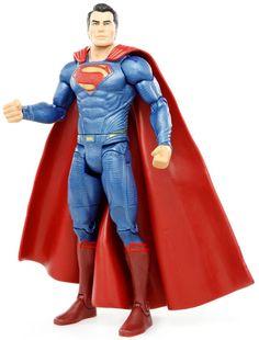 "DC Comics Multiverse Batman v Superman Movie Masters SUPERMAN 6"" Action Figure #Mattel"