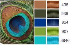 Gallery.ru / Фото #24 - Цветовые палитры - BlueBelle Colour Pallette, Color Palate, Colour Schemes, Color Combos, Dmc Embroidery Floss, Cross Stitch Embroidery, Cross Stitch Designs, Cross Stitch Patterns, Design Seeds