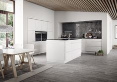 tchn Mag inspires with of global kitchen design ideas for more sophisticated and gracious family living in the heart of your home. Rustic Kitchen, New Kitchen, Kitchen Dining, Kitchen Decor, Danish Kitchen, Gray And White Kitchen, Best Kitchen Designs, Grey Kitchens, Kitchen Pictures