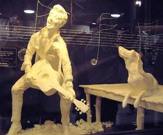 I can't believe its not butter - Elvis with hound dog