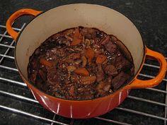 Chef Mel's Kitchen: Recipe: Beef, Mushroom and Guinness Casserole