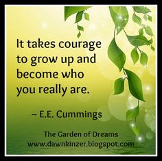 The Garden of Dreams: Meme – Inspirational Quote on Becoming You