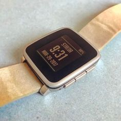 #lackoj my new #pebble #pebbletimesteelsilver #smartwatches #amazing #slovakia