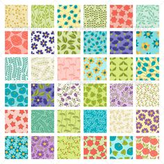 Set of 36 Seamless Floral Patterns  #GraphicRiver