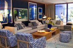 Estampa chevron: o zigue-zague é tendência na decoração! - Decor Salteado - Blog de Decoração, Arquitetura e Construção
