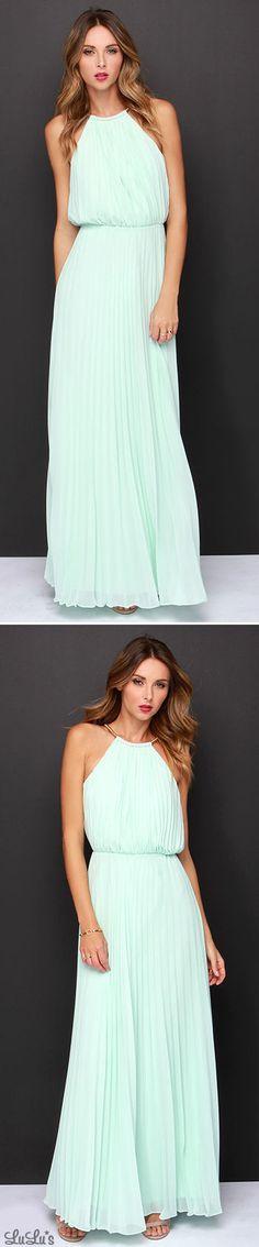 Bariano Melissa Mint Maxi Dress