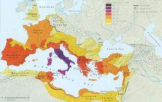 romeinse rijk kaart - Google zoeken