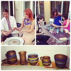 We love art, creativity and handmade! App Office, Handmade Pottery, Dream Team, Master Class, Love Art, Terrace, Pots, Creativity, Girls