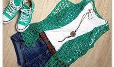 Easy Crochet Summer Vest Pattern