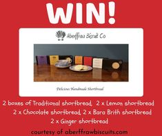 Bara Brith, Competition Giveaway, Farm Shop, Shortbread, Biscuits, Lemon, Traditional, Chocolate, Food