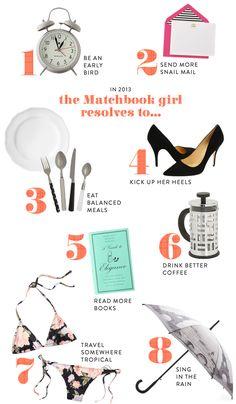 The Matchbook girl...