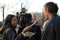 news reporter interviewing - Google Search