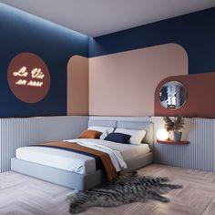 Design Hotel, Home Design, Bed Design, Bedroom Scene, Bedroom Setup, Bedroom Decor, Interior Modern, Home Interior, Interior Design