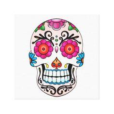 Sugar Skull Wedding Art & Framed Artwork   Zazzle