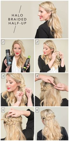 See how to get Twist Me Pretty's Halo Braid Half-Up in this step-by-step video by TRESemmé.