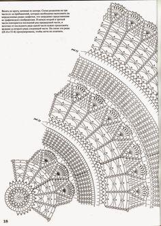 Kira scheme crochet: Scheme crochet no. Crochet Tablecloth Pattern, Crochet Doily Diagram, Crochet Mandala Pattern, Crochet Stitches Patterns, Crochet Chart, Thread Crochet, Mantel Redondo, Crochet Dollies, Fillet Crochet