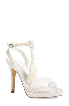 Menbur 'Dalila' Bridal Sandal (Women) available at #Nordstrom