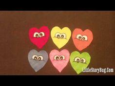 Valentine's Day preschool song - Oh Valentine song - Littlestorybug