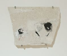 Lorienne Lotz, Ray-banned (2014), Oil and pencil on limestone, 30 x 40 x 4cm