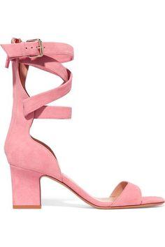 Valentino - Suede Sandals - Baby pink - IT35