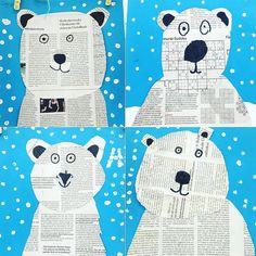 """Basteln mit Kindern on Instagram: """"Eisbären ❄️ im Winter 🥶 eignen super für einen Bastelnachmittag wie bei @caro_lin.fri #kindergartenideen #bastelnmitkindern…"""""""