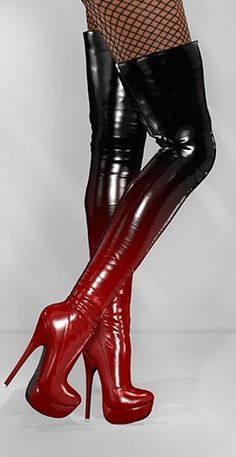 Love these sexy boots Thigh High Boots, High Heel Boots, Over The Knee Boots, Heeled Boots, Bootie Boots, Hot High Heels, Sexy Heels, Stiletto Heels, Stilettos