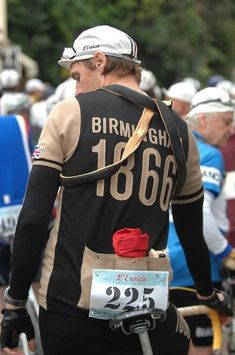 L'Eroica: a good old-fashioned bike ride #bisiklet #style #bivycle