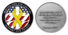 Deuteronomy 20:4 Coin 2013 Item # CC-1187