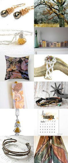 more great handmade gifts! November Morn by Judy Lott on Etsy--Pinned with TreasuryPin.com #giftguide #etsy #shopsmall #handmade