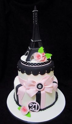 Eiffel Tower Cake   Flickr - Photo Sharing!