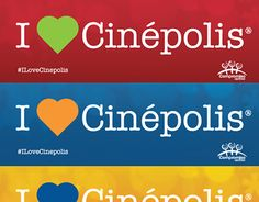 """Check out new work on my @Behance portfolio: """"Concepto y diseño campaña #ILoveCinepolis"""" http://be.net/gallery/47986287/Concepto-y-diseno-campana-ILoveCinepolis"""