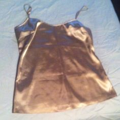 Elie Tahari gold cami Camisole in excellent condition. 95% polyester 5% elastane Elie Tahari Tops Camisoles