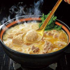 〈なだ万〉のだしにバター味噌を溶かしたスープで。【高島屋限定】名古屋コーチン味噌鍋