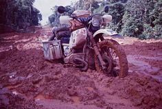 Roads may get muddy during periods of rain...