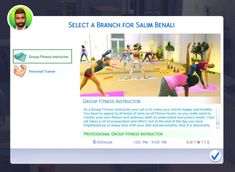 Fitness Instructor Career - The Sims 4 Catalog Sims 4 Body Mods, Sims 4 Game Mods, Sims 4 Jobs, Sims Cc, Star Citizen, Tumblr Sims 4, Sims Videos, Sims 4 Tattoos, Fifa
