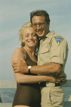 "Ellen & Chief Brody ""Jaws"" 1975"
