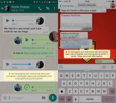 WhatsApp protege mensagens em chats e grupos com criptografia ponta a ponta   Notícias   TechTudo
