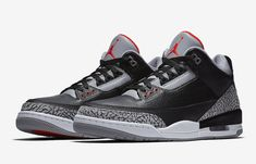 92b1e7ba86f6bd Air Jordan 3 Black Cement 2018 Retro 854262-001 - Sneaker Bar Detroit Jordan  Retro
