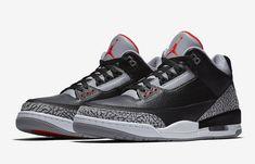 aa202cfb3cd Air Jordan 3 Black Cement 2018 Retro 854262-001 - Sneaker Bar Detroit Nike  Air