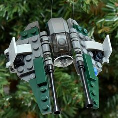 2015 Star Wars™ Anakin's Jedi Interceptor by on Etsy Lego Christmas Ornaments, Lego Group, Service Projects, Group Of Companies, Wire Hangers, Domestic Violence, Lego Star, Charity, Star Wars