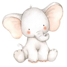 Discover recipes, home ideas, style inspiration and other ideas to try. Cute Elephant Drawing, Cute Baby Elephant, Baby Drawing, Little Elephant, Cute Animal Drawings, Elephant Art, Cute Drawings, Elephant Watercolor, Elephant Theme