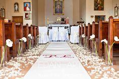 Dekoracje kościołów Pisz, Olsztyn, Warmińsko-Mazurskie Edan-Art #wesele #slub