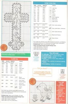 Easter Cross • Chart and information