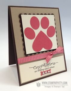 Paw Print for Ginger