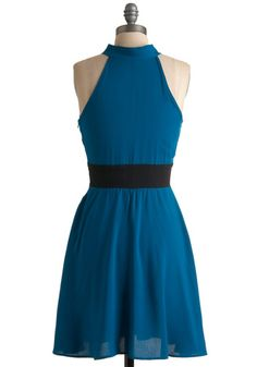 The Teal Deal Dress, #ModCloth